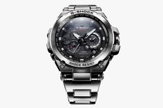 Casio Introduces New Line of Metal G-Shock Watches