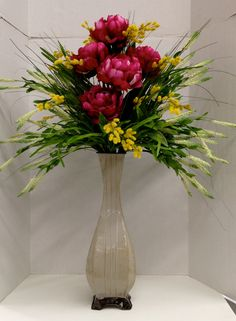 Spring Faux Floral 2014 Season design and Arrangement. Arts & Crafts ROCK! http://nfmdesign.synthasite.com/