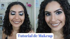 Apimentada: TUTORIAL: Maquiagem com Glitter Prata!