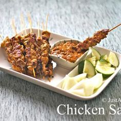 Malaysian Chicken Satay Recipe - ZipList