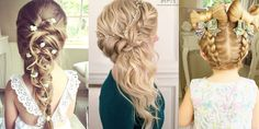 Awesome Hairstyles for Little Girls and Bridesmaids!