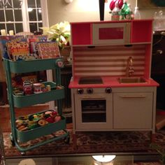 IKEA duktig play kitchen hack: Emma Xmas 2013
