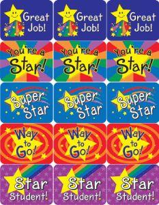 Praise Stickers