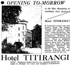 Timespanner: The Titirangi Treasure House New Zealand Hotels, Nz History, Auckland New Zealand, Blue Mountain, Cgi, November, Heaven, Houses, Ideas