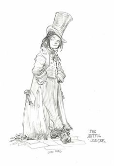 The Artful Dodger  by Chris Riddell