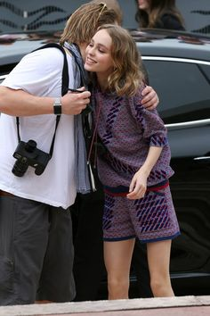 Lily-Rose Depp @ Cannes.
