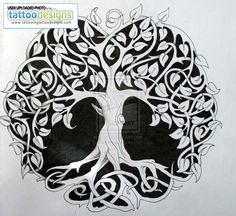 beautiful tattoo idea, maybe with kids' initials and bdays on branches if big enough?