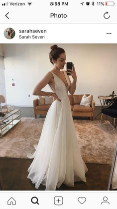 Wonderful Perfect Wedding Dress For The Bride Ideas. Ineffable Perfect Wedding Dress For The Bride Ideas. Tulle Wedding Gown, Long Wedding Dresses, Bridal Gowns, Wedding Dress Straps, Slinky Wedding Dress, Spaghetti Strap Wedding Dress, Backless Wedding, Wedding Dress Shopping, Perfect Wedding