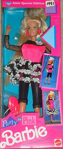 1991 Barbie - Party In Pink # ?