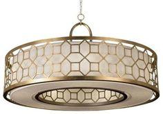 Allegretto 780340 Drum Pendant by Fine Art Lamps - Pendant Lighting - Lumens