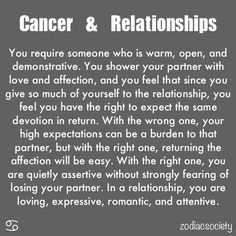 Cancer & Relationships