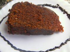 Receita de bolo de chocolate com cobertura de coco