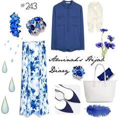 Aminah´s Hijab Diary #hijab #modest #fashion #style #stylist #look #outfit #ootd #mango #blue #blog