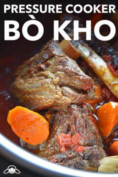 Pressure Cooker Bo Kho (Vietnamese Beef Stew) by Michelle Tam…