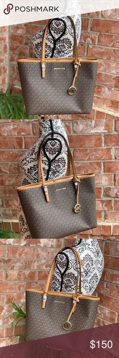 4d9933dad174b2 Michael kors jet set travel carryall medium tote From MICHAEL Michael Kors  Jet Set Travel collections