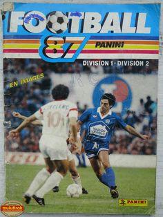 Album ... Football Panini 1987