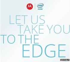 Google's Motorola unit has confirmed plans to release its first smartphone powered by an Intel chip.