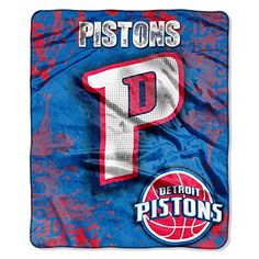 Detroit Pistons NBA Royal Plush Raschel BlanketBy BlueTECH ** Read more reviews of the product by visiting the link on the image.
