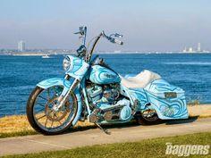 2004 #HarleyDavidson #FLHR #RoadKing #motorcycle #LetsGetWordy