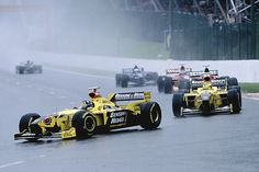 1998 Damon Hill claims his final grand prix win at Spa