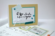 CTMH 'Sunshine on a Cloudy Day' stamp set. I love getting the inspiration straight from our Idea Book!