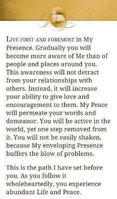 Give love and encouragement