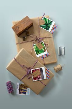 DIY Air Mail Gifts Tutorial