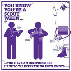 Bilderesultat for you know you're a scout when