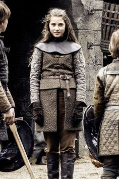 Lyanna Stark from Game of Thrones Season 6 Episode 2 'Home' - mini-me :) Game Of Thrones Series, Game Of Thrones Fans, George Rr Martin, Valar Dohaeris, Valar Morghulis, Cersei Lannister, Winter Is Here, Winter Is Coming, Jon Snow