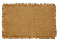 Burlap Natural Placemat - These placemats are made from 100�0cotton and woven into a