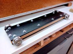 Pedro's Format Table Saw - Part 1 Serra Circular, Panel Saw, Homemade Tools, Table, Diys, Office Supplies, Bathtub, Woodworking, Workshop