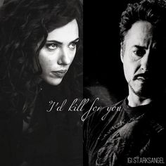 """""""I'd kill for you, babe."""" #IronWidow <3"""