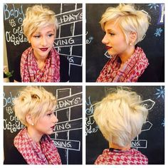 Long pixie hairstyles very trendy and looks gorgeous. This article includes messy pixies, layered long pixie cuts, straight hair pixie style, different colored pixie cuts and more… Let's take a look and pick your own style Related Postsshort layered pixie Long Pixie Hairstyles, Short Pixie Haircuts, 2015 Hairstyles, Pretty Hairstyles, Braided Hairstyles, Hairstyle Braid, Blonde Hairstyles, Straight Hairstyles, Wedding Hairstyles