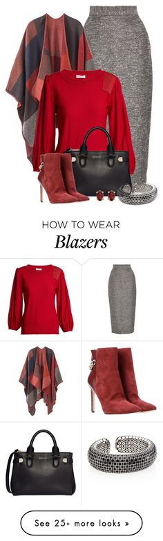 """Untitled #2695"" by anfernee-131 on Polyvore featuring Lela Rose, Sonia Rykiel, Modalu, Nine West, BillyTheTree, John Hardy, ninewest, soniarykiel, LelaRose and johnhardy"