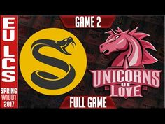 Splyce vs Unicorns of Love Game 2 - EU LCS Week 10 Day 1 Spring 2017 - SPY vs UOL G2