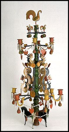 Old Swedish Christmas tradition from South Sweden, the Christmas tree, a candelabra, a reshaped version of the Odin Tree with motifs with connections to the Viking Age. Founder of the tradition unknown. Swedish Christmas, Wooden Christmas Trees, Antique Christmas, Noel Christmas, Scandinavian Christmas, All Things Christmas, Winter Christmas, Christmas Crafts, Christmas Decorations