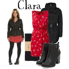 Clara Oswald by companionclothes on Polyvore featuring polyvore, fashion, style, Vero Moda and dELiA*s
