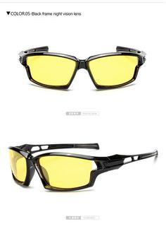 9379cc19437 Longkeeper Night Vision Sunglasses Men Polarized Night Driving Enhanced  Light