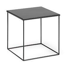 1000 images about chevet on pinterest metal end tables - Table de chevet cuir noir ...