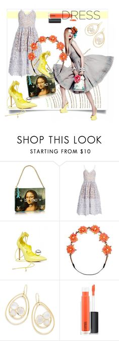 """""""So Pretty: Dreamy Dresses"""" by kari-c ❤ liked on Polyvore featuring Privileged, Carole, Ippolita, MAC Cosmetics and dreamydresses"""