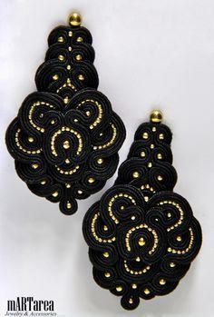 Soutache; earrings