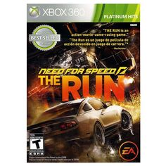 Need for Speed: The Run - Platinum Hits Edition for Xbox 360, Multicolor