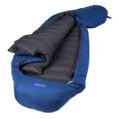 Pipedream 400 hydrophobic light weight goose down sleeping bag