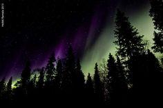 Aurora Borealis, Jerisjärvi, Finland, by Heikki Rantala