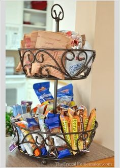 Tiered Storage   12 Ingenious Kitchen Pantry Organization Projects You Should Try This Winter