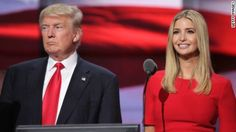 Donald Trump's daughter Ivanka influenced her father's decision to launch military action in Syria, according the President's son.