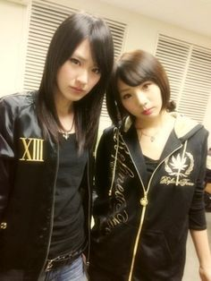 乃木坂46 (nogizaka46) Takayama Kazumi (高山一実) & Noujo Ami (能條愛未)