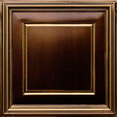 "Faux Tin Ceiling Tile - 24""x 24"" #224"