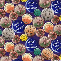 Women Suffragette, Women Right To Vote, Venus Symbol, Only In America, Quilt Labels, Novelty Print, Animal Party, Fabric Online, Cool Websites