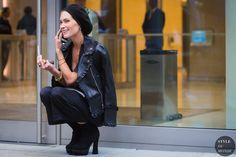 Erin Wasson Street Style Street Fashion Streetsnaps by STYLEDUMONDE Street Style Fashion Photography